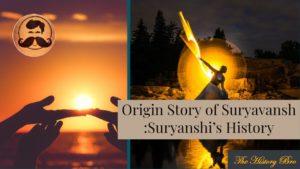 Suryavanshi History