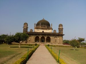 Black Taj Mahal Buhranpur Fornt View