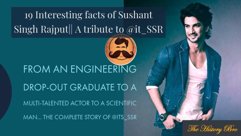 19 Interesting Facts Of Sushant Singh Rajput That You Must Know