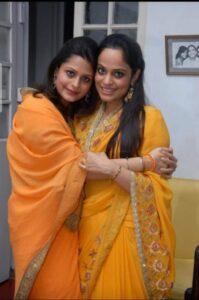 Manda Rajkumari Adrija M Singh Rajkumari Richa M Singh Daughters of Raja Ajeya Pratap Singh 1