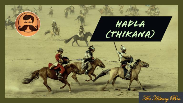 Hadla (Thikana) – The History Bro