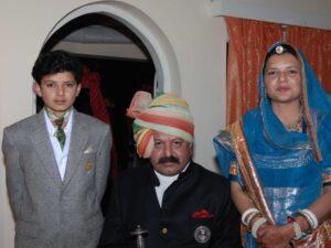 Rawat Thakur RAJ DEO SINGH and Family (Ajabpur)